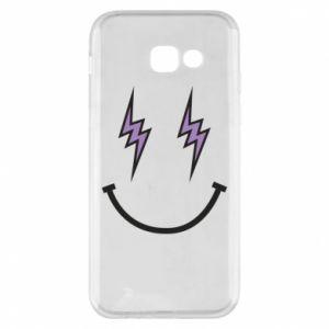 Etui na Samsung A5 2017 Lightning smile