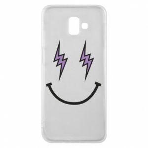 Etui na Samsung J6 Plus 2018 Lightning smile