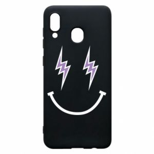 Etui na Samsung A30 Lightning smile