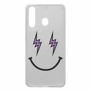 Etui na Samsung A60 Lightning smile
