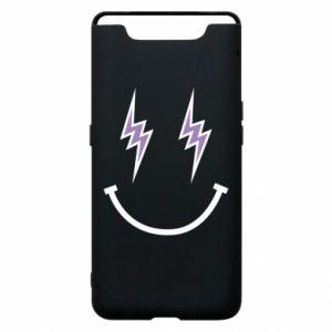 Etui na Samsung A80 Lightning smile