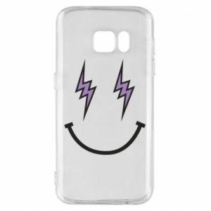 Etui na Samsung S7 Lightning smile