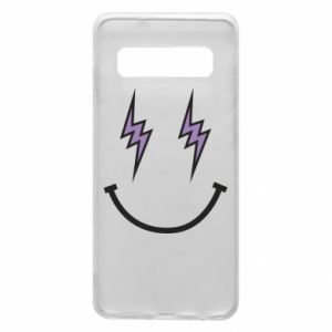 Etui na Samsung S10 Lightning smile