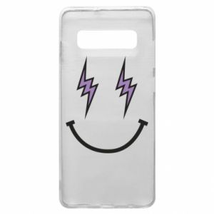 Etui na Samsung S10+ Lightning smile