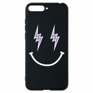 Etui na Huawei Y6 2018 Lightning smile