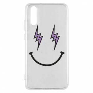 Etui na Huawei P20 Lightning smile
