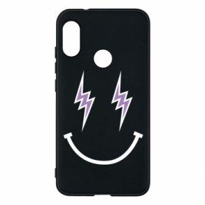 Etui na Mi A2 Lite Lightning smile