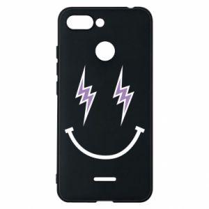 Etui na Xiaomi Redmi 6 Lightning smile