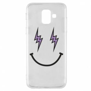 Etui na Samsung A6 2018 Lightning smile