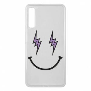 Etui na Samsung A7 2018 Lightning smile