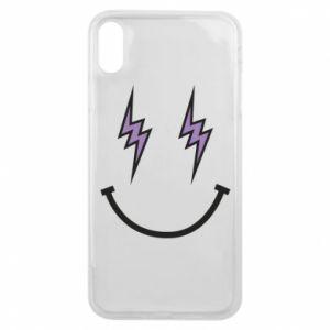 Etui na iPhone Xs Max Lightning smile