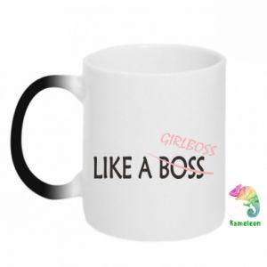 Kubek-magiczny Like a boss