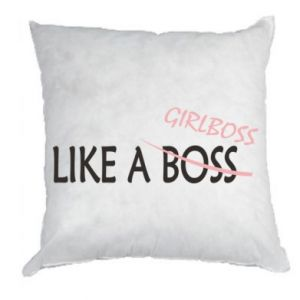 Pillow Like a boss