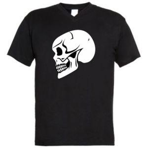 Męska koszulka V-neck death