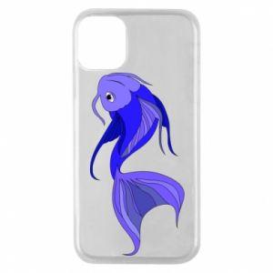 Etui na iPhone 11 Pro Lilac fish