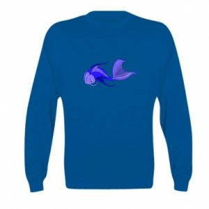 Bluza dziecięca Lilac fish