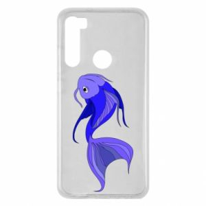 Etui na Xiaomi Redmi Note 8 Lilac fish