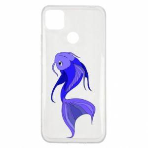 Etui na Xiaomi Redmi 9c Lilac fish