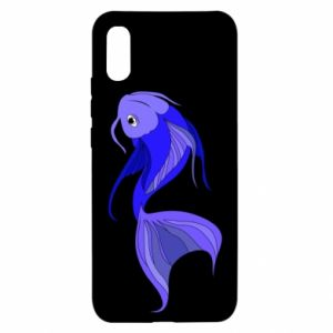 Xiaomi Redmi 9a Case Lilac fish