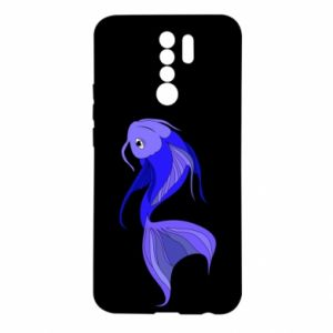 Xiaomi Redmi 9 Case Lilac fish