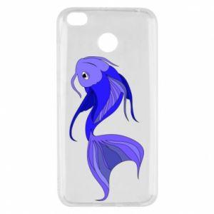 Etui na Xiaomi Redmi 4X Lilac fish