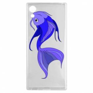 Etui na Sony Xperia XA1 Lilac fish