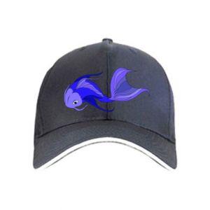 Czapka Lilac fish