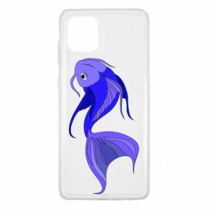 Etui na Samsung Note 10 Lite Lilac fish