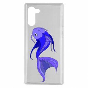 Etui na Samsung Note 10 Lilac fish