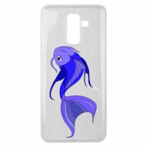 Etui na Samsung J8 2018 Lilac fish