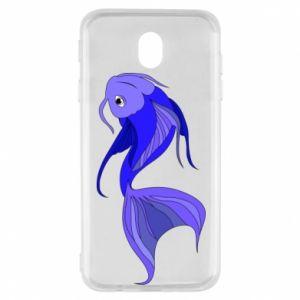 Etui na Samsung J7 2017 Lilac fish