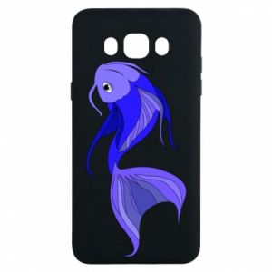 Etui na Samsung J7 2016 Lilac fish