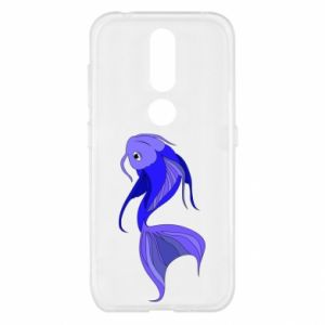 Etui na Nokia 4.2 Lilac fish