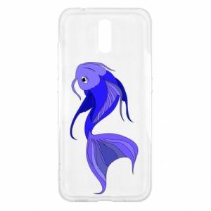 Etui na Nokia 2.3 Lilac fish