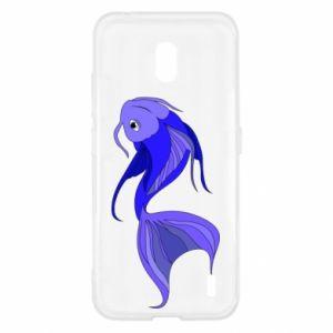 Etui na Nokia 2.2 Lilac fish