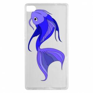 Etui na Huawei P8 Lilac fish