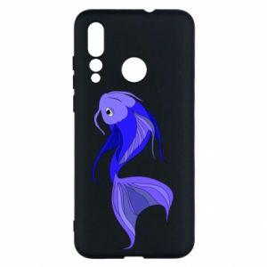 Etui na Huawei Nova 4 Lilac fish