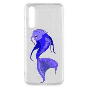 Etui na Huawei P20 Pro Lilac fish