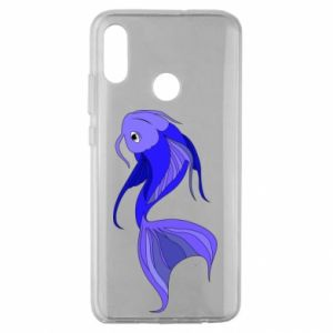 Etui na Huawei Honor 10 Lite Lilac fish