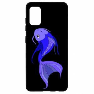 Etui na Samsung A41 Lilac fish