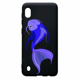 Etui na Samsung A10 Lilac fish