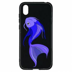 Etui na Huawei Y5 2019 Lilac fish