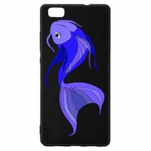Etui na Huawei P 8 Lite Lilac fish