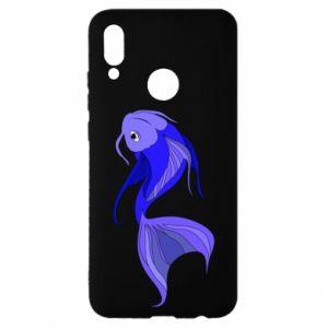 Etui na Huawei P Smart 2019 Lilac fish