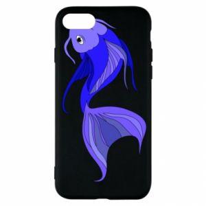 Etui na iPhone SE 2020 Lilac fish