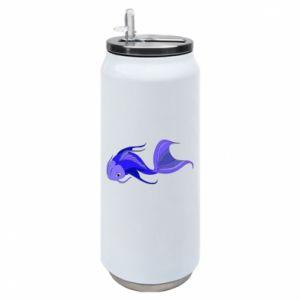 Puszka termiczna Lilac fish