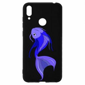Etui na Huawei Y7 2019 Lilac fish