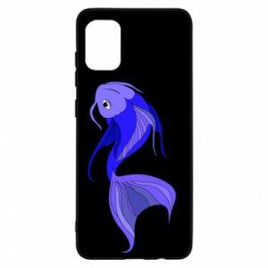 Etui na Samsung A31 Lilac fish