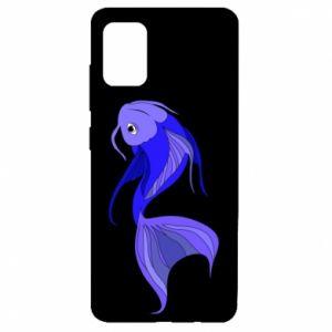 Etui na Samsung A51 Lilac fish
