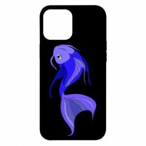 Etui na iPhone 12 Pro Max Lilac fish